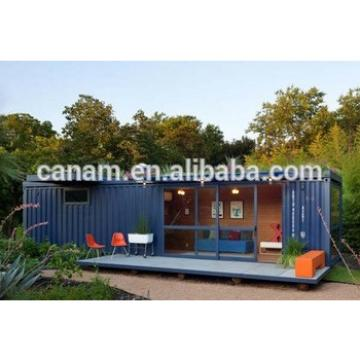 prefabricated 40ft shipping container house folding steel structure container house