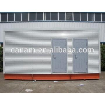 steel structure mobile toilet prefab modular house
