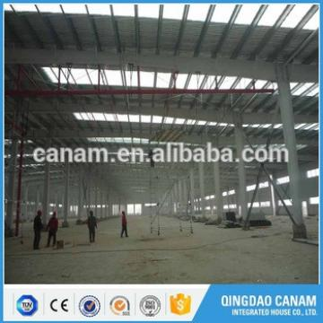 Prefabricated construction steel structure building logistic warehouse in Uzbekistan