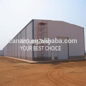 latest construction products steel structure building for Philippines