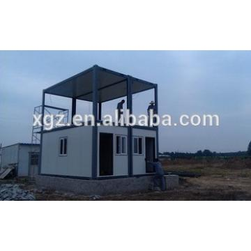 two-storey steel structure container house