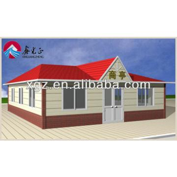 Cheap Slope Roof Prefab House