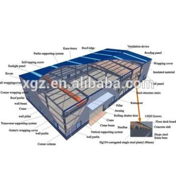 modular modern cheap prefab steel Building