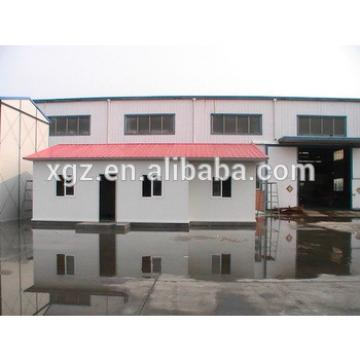 Flat roof low cost prefabricated house and wall panels