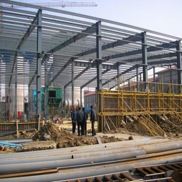 Light Steel Prefabricated Galvanized Sheet Metal Workshop