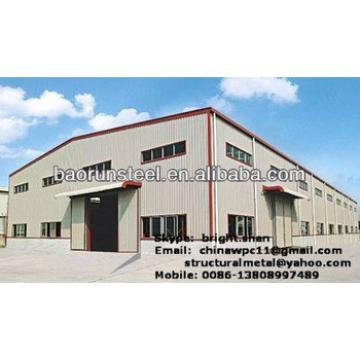 Large Span Steel Frame Building2