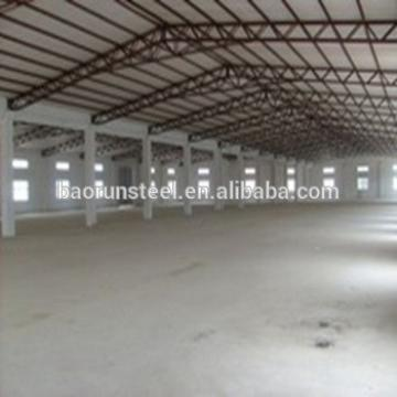 Professional prefabricated light steel structure shed design building for sale