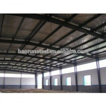Pre engineering light duty steel structure building/storage/warehouse