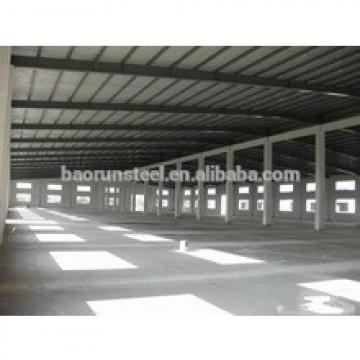 Industrial construction heavy steel galvanized warehouse sandwich panel prefabricated steel structure building