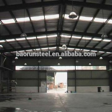 Prefab light gauger demountable steel structure workshop