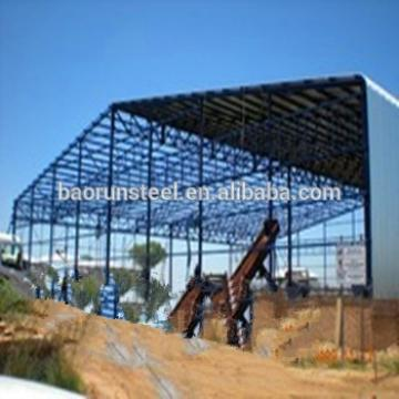 China light portal steel structure prefabricated warehouse