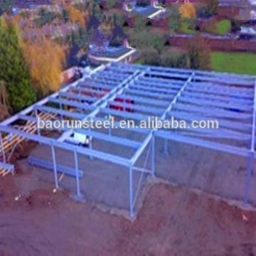 Prefab Steel Structure Plant Shed Design for factory