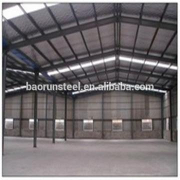 Prefabricated light steel construction hall