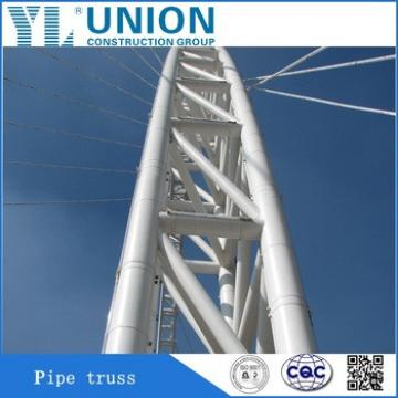 steel truss and pipe truss