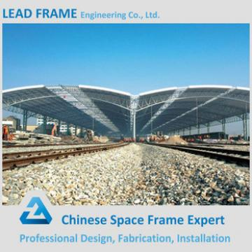 Stainless Steel Metal Roof Truss Design For Train Station