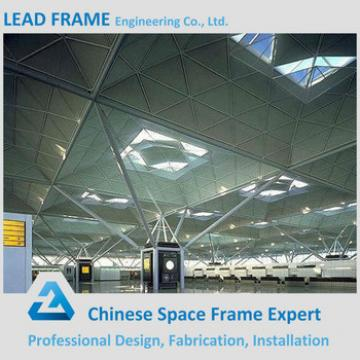 Attractive and durable structure steel fabrication for train station