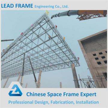 Steel Construction Building Gas Station Canopy With High Quality