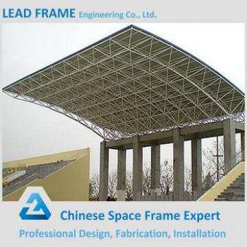 Long Span Strong Windproof Space Frame Building Steel Grandstand