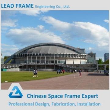 Lightweight steel frame structure football stadium