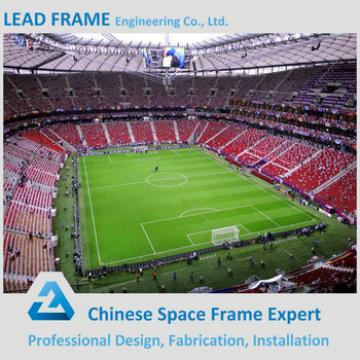 environmental long span prefab steel structure stadium roof