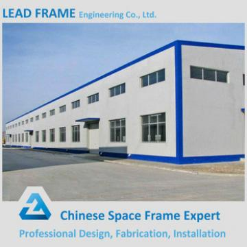 Cost Saving Steel Frame Industrial Workshop Roof Design
