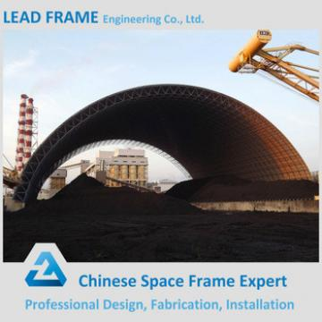 Galvanized steel space frame building coal fired power plant