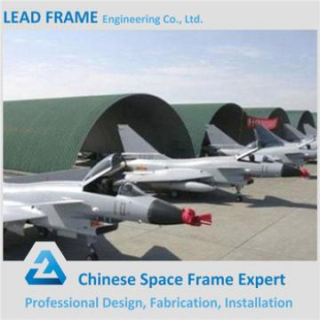 Prefab Metal Steel Structure Quick Install Aircraft Hangar With Low Price