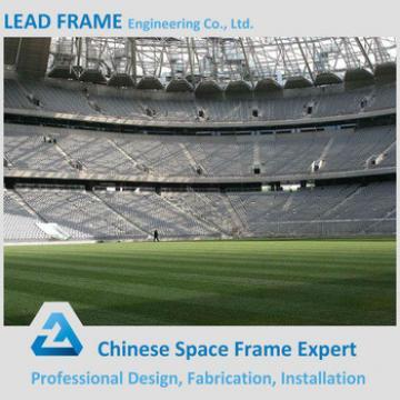 light steel long span prefab football stadium space frame design