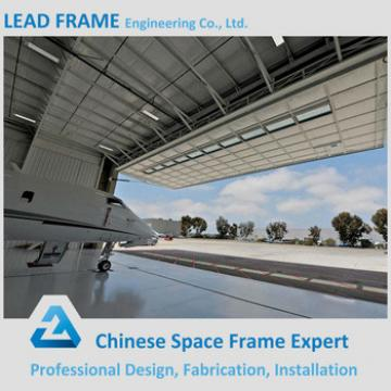 Easy installation aircraft hangar for plane maintenance