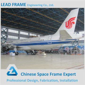 Prefab Metal Structure Aircraft Hangar for Aircraft Maintenance