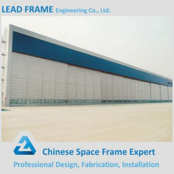 Light Steel Roof Truss Design for Aircraft Hangar
