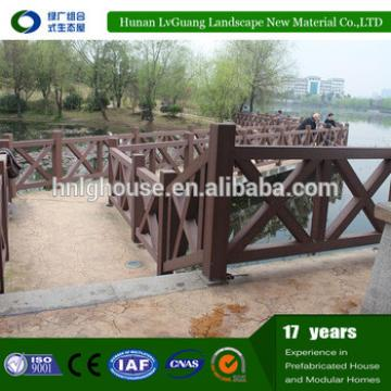 low price WPC coated used wood fencing post