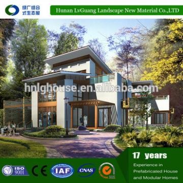 2016 Earthquake-Proof modern luxury nepal prefab house in best price