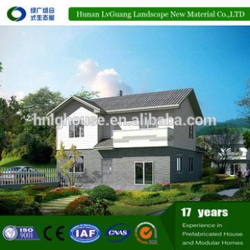Lightweight steel frame 2 floor temporary prefab house