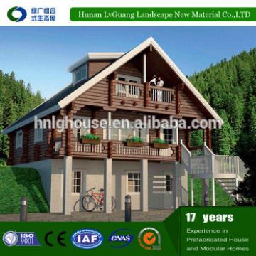 Two-floor luxury modern prefabricated prefab house villa