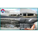 Steel structure prefab chicken houses shed hangar warehouse building