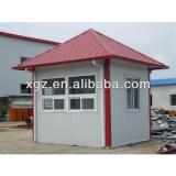 Hipped roof steel frame prefabricated home