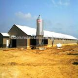Prefabricated steel structure poultry house