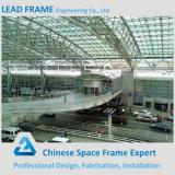 Customized steel roof truss airport terminal