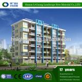 having electric hydraulic guide rail construction platform lift of house