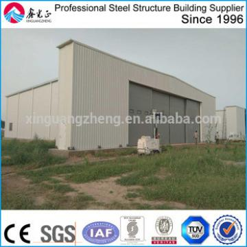 prefabricated steel hangar project
