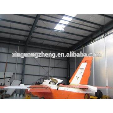 steel structure prefabricated hangar