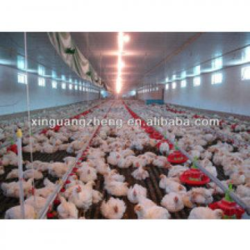 modern leading prefab broiler/layer chicken farm house manufacturer in China