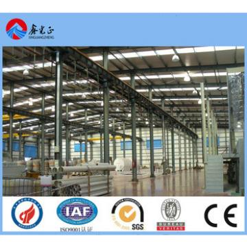 CE certification large-span steel structural buildings in china XGZ steel structure Group founded in 1996