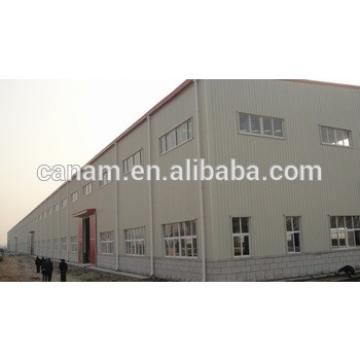 50m Span high quality light steel structure warehouse