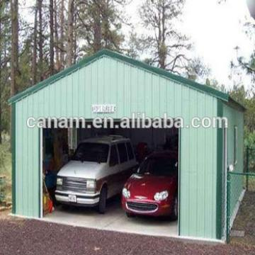 Prefabricated steel garage with CE certification