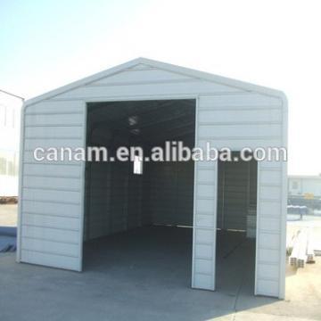 Prefabricated low cost steel structure garage