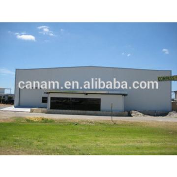 fast install construction steel structure aircraft hangar