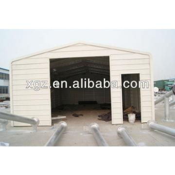 Prefab Steel Structure Car Garage for sales