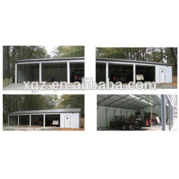 Light Frame Steel Structure Car Garage